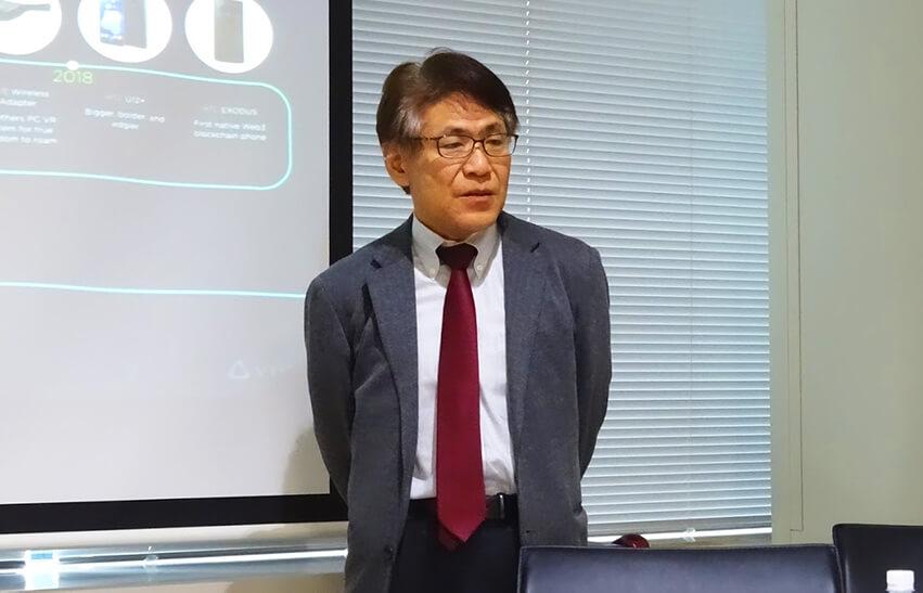 HTC 代表取締役社長 児島全克氏