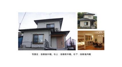 LIXIL、中古住宅をIoT搭載してリフォームした「福島実証棟」を開設