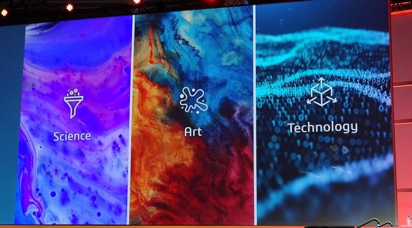 科学、芸術、テクノロジーの交差点