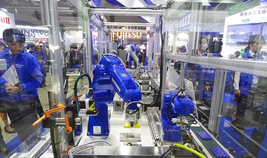 変種変量生産を同一ラインで実現 段取り替えのムダを省く ―スマート工場EXPOレポート2