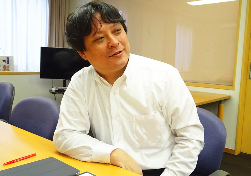 NECソリューションイノベータ 東北支社 佐藤精基氏