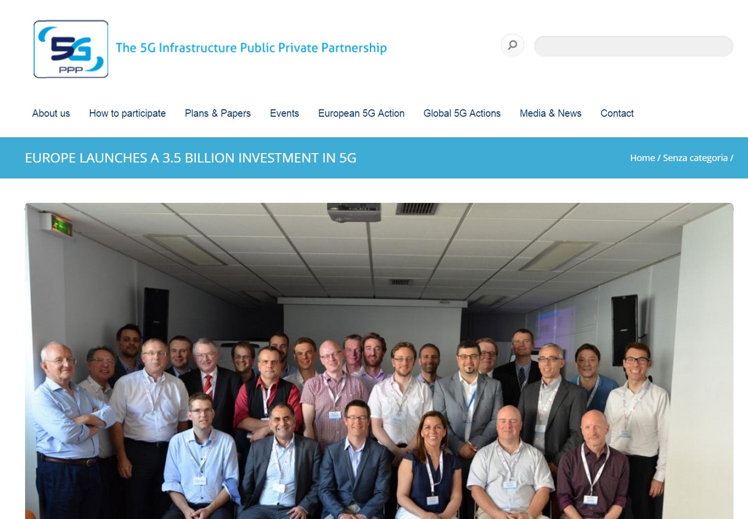 ファーウェイ、5G PPPで新たに発足した共同研究プロジェクト5つに参画し、5G研究推進に貢献