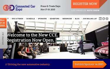 Connected Car Expo - Where cars, technology and genius converge.