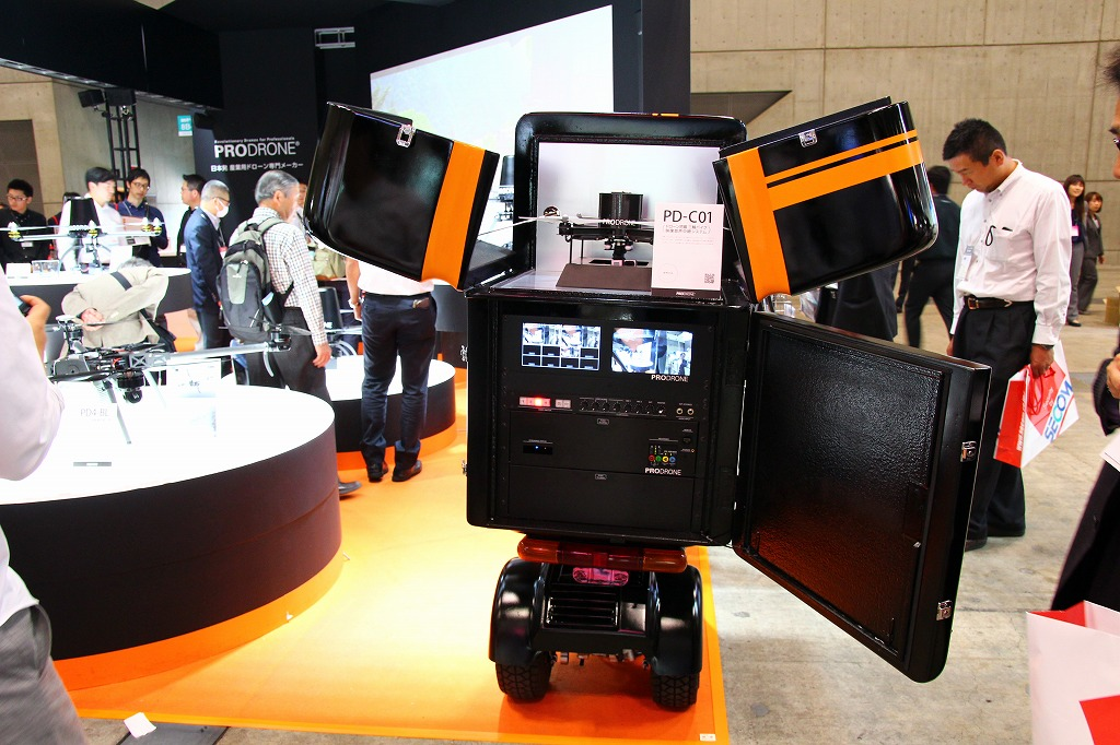 ドローンと映像配信システム