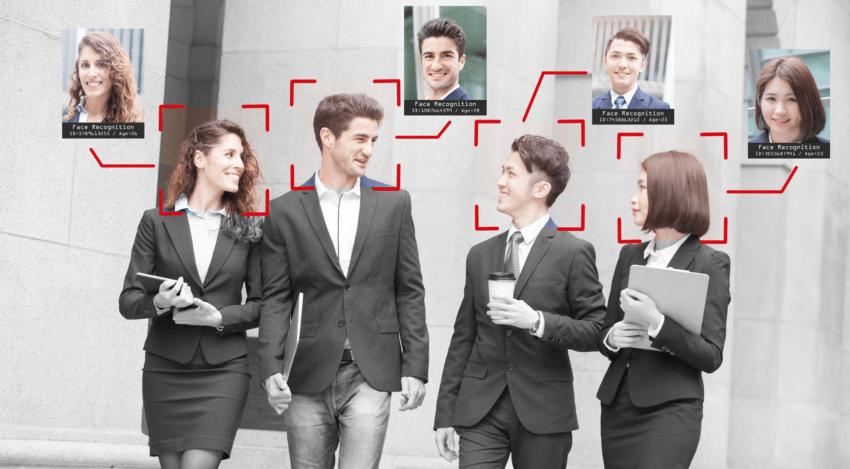 AI顔認証 人物検知