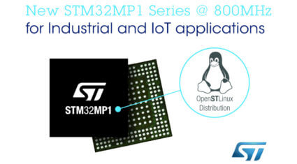 STマイクロエレクトロニクス、STM32マイクロプロセッサの性能向上と開発エコシステムの拡充を発表