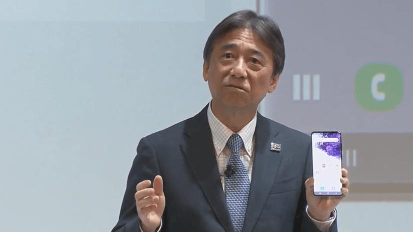 NTTドコモ 代表取締役社長 吉澤和弘氏