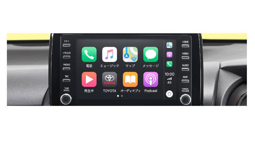 トヨタ、ディスプレイオーディオのスマートフォン連携機能を強化