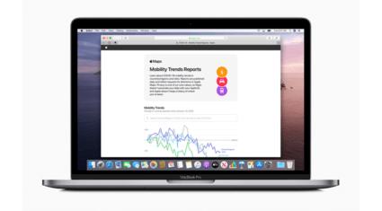 Apple、マップによるモビリティデータの傾向を示すツールを提供
