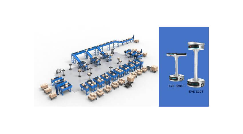 ギークプラス、商品を方面別に自動で仕分けて出荷口まで搬送するソーティングロボットを提供開始