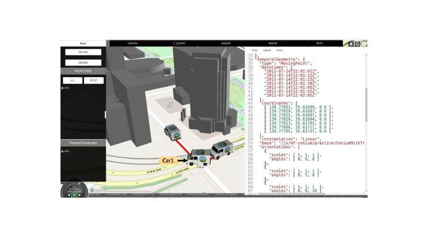 産総研と日立、移動体データ形式「MF-JSON形式」が地理空間情報の国際標準として採択