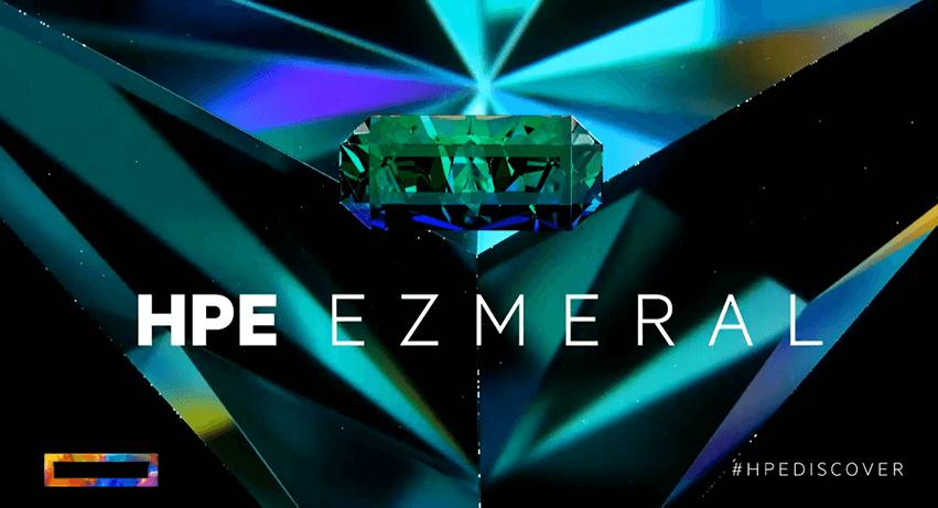 新たなソフトウェアのポートフォリオ「HPE EZMERAL」を発表