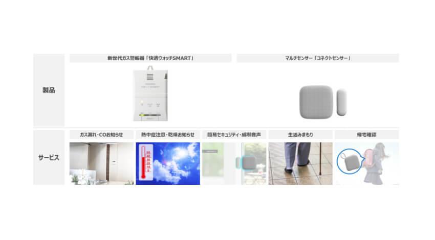 新コスモス電機とエンコアード、スマートホームサービス対応のガス警報器「快適ウォッチSMART」を発売