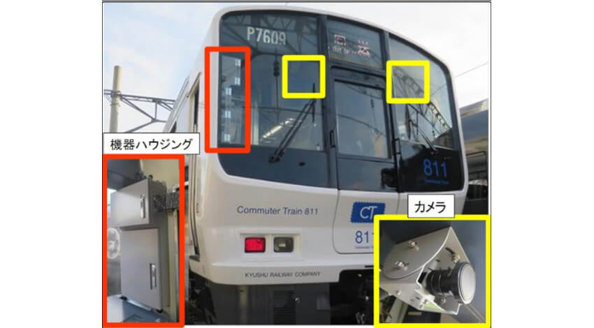NEC、画像解析を活用して鉄道の沿線検査業務を支援する「列車巡視支援システム」を実用化