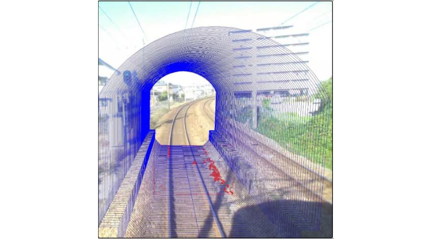 NEC、画像解析を活用して鉄道の沿線検査業務を支援する「列車巡視支援システム」を実用化