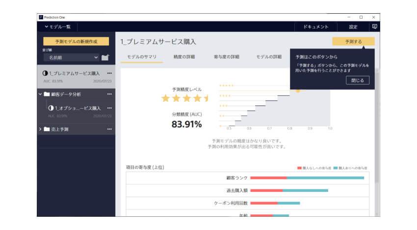 ソニー、機械学習を用いた予測分析ソフトウェア「Prediction One」のライセンス販売を開始