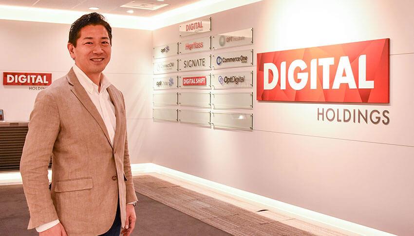 「イノベーション型」で攻めのデジタルシフトを実現する ――デジタルホールディングス代表取締役社長 野内敦氏インタビュー