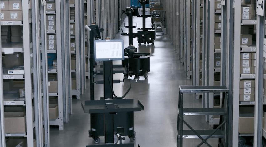 日通、倉庫向け協働型ピッキングソリューションの本稼働を開始