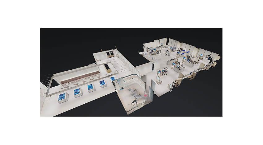 オムロン、製造現場を再現したFA技術の集積拠点 「オートメーションセンタ」のバーチャル見学提供を開始