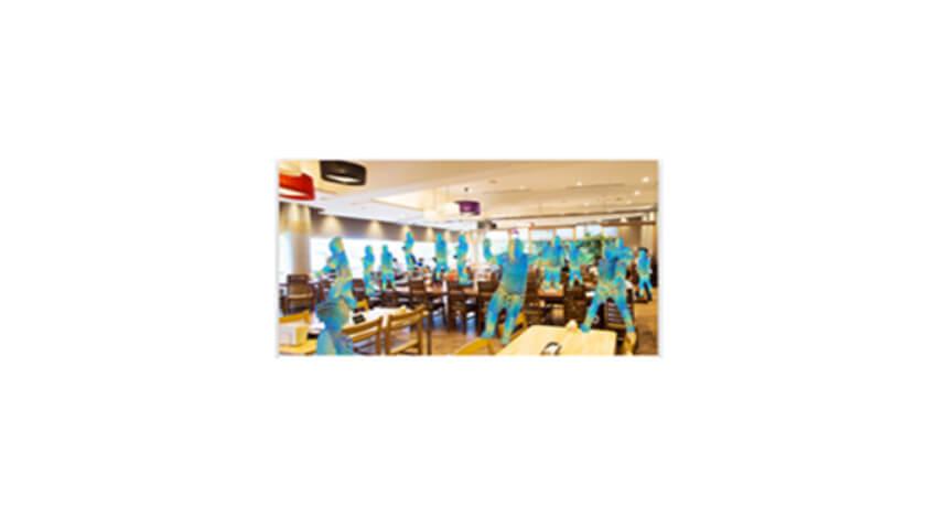 NTT東日本、公共施設や飲食店の混雑状況を可視化するサービス「映像解析オプション PLACE AI」を提供開始