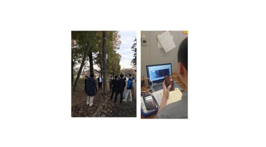 NECと電中研、光ファイバセンシング技術やAI技術を応用してコンクリート電柱のひび割れ検知の実証実験を実施