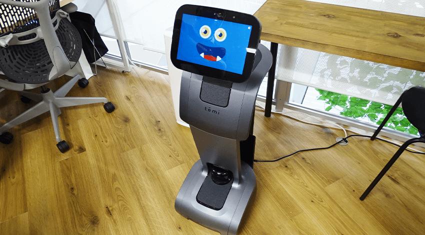ダイワロジテックグループ、汎用型ロボット「temi」アプリ開発ツール「BuddyBot」と3Dバーチャルルーム「WHITEROOM」体験会を実施