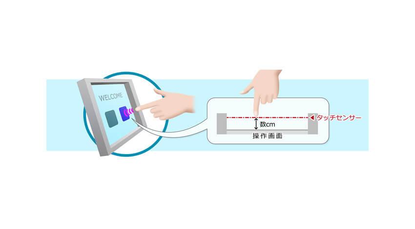 OKI、非接触での画面操作を可能にする「ハイジニック タッチパネル」を開発