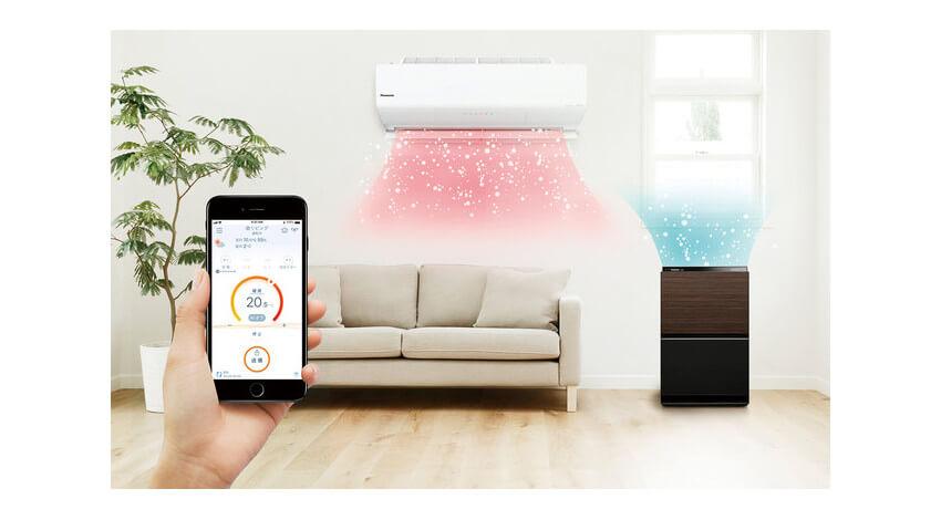 パナソニック、IoT連携が可能なルームエアコン「エオリア」と加湿空気清浄機の新製品を発売