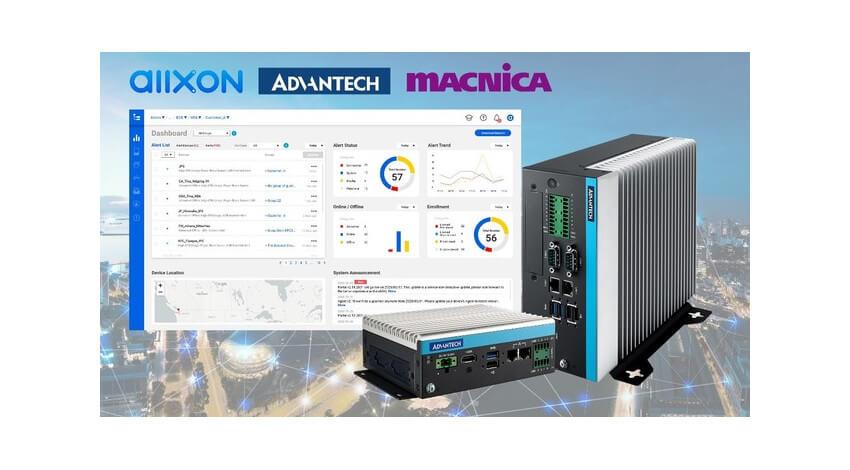アドバンテック・Allxon・マクニカが協業、多様な環境における大規模なエッジAIリモート管理を実現