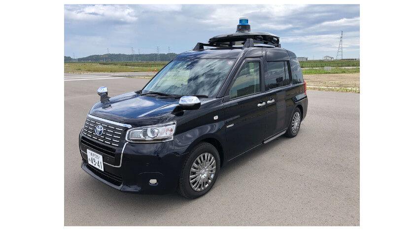 KDDI・MoT他3社、西新宿エリアで5Gを活用した自動運転タクシーの実証実験を開始