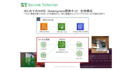 スペクトラム・テクノロジー、ネット環境不要でAWS IoTを動作できる「AWS Greengrass開発キット」を販売開始
