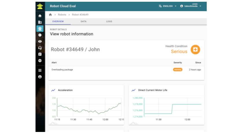 MODE、 ロボットの運用やメンテナンスを効率化するための統合監視システムを提供開始