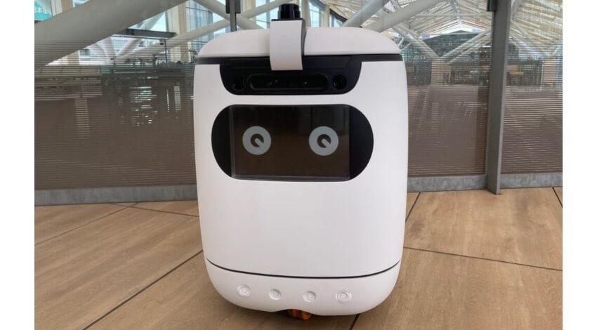 アスラテックと日立システムズ、高輪ゲートウェイ駅におけるロボットの実証実験に自律走行型搬送ロボット「RICE」を提供