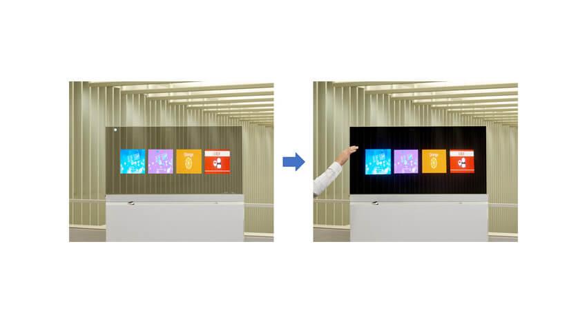 DNP、手をかざすだけで操作できるタッチレスAR透明浮遊ディスプレイを提供開始