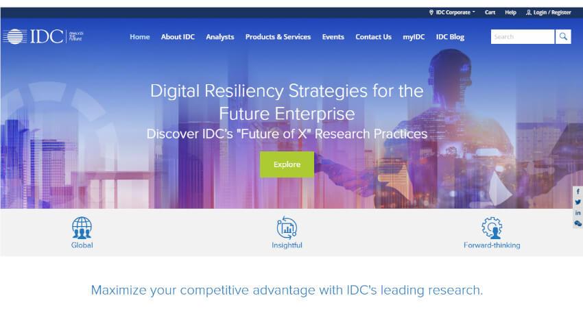 IDC、2021年の国内IT市場においてクラウドセントリックITや非接触/非密集型ソリューション等の10項目が主要になると発表