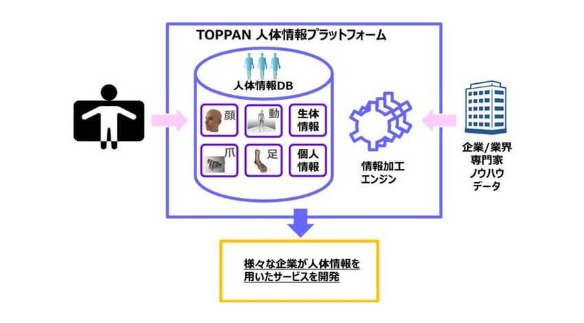凸版印刷、人体情報計測が可能な「トッパンバーチャルヒューマンラボ」を設立