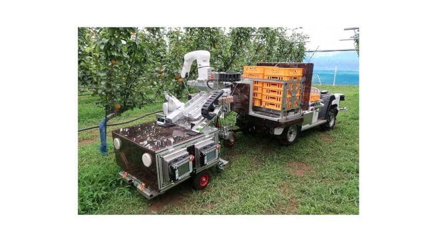 農研機構・立命館大学・デンソー、自動果実収穫ロボットのプロトタイプを開発