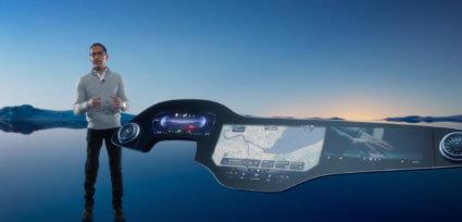 メルセデス・ベンツの近未来のダッシュボード ーCES2021レポート4