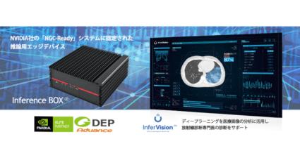 医師の画像診断を支えるディープラーニング技術、GDEPアドバンスの「Inference BOX」を活用