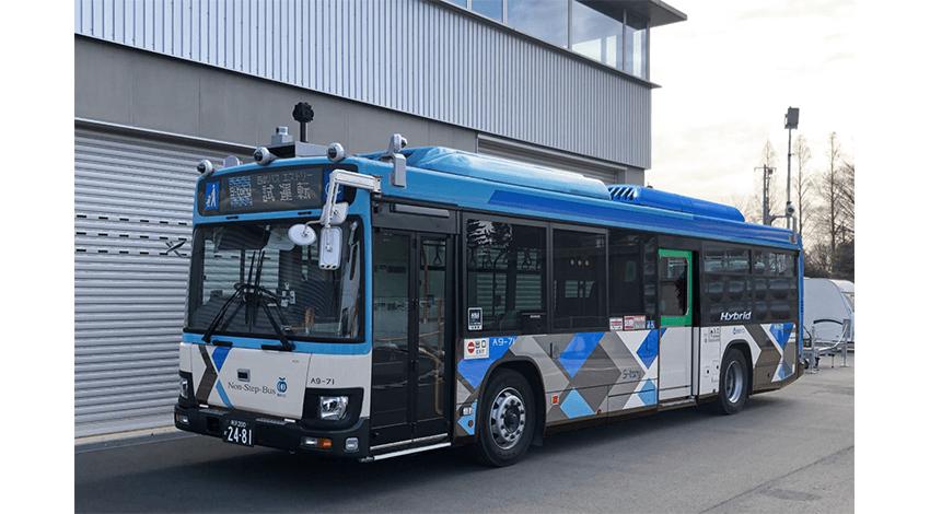 西武バス・群馬大学など、通常営業の路線バスによる自動運転の実証実験を実施