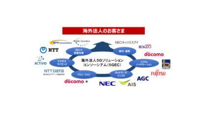 NEC・NTTグループ・富士通・AGCなど、5Gソリューション展開をめざしたコンソーシアムの設立に向け基本合意