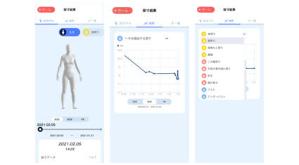 Bodygram Japan、AI採寸テクノロジーを搭載したアプリ「Bodygram」において3Dアバターによる体型トラッキング機能を提供開始