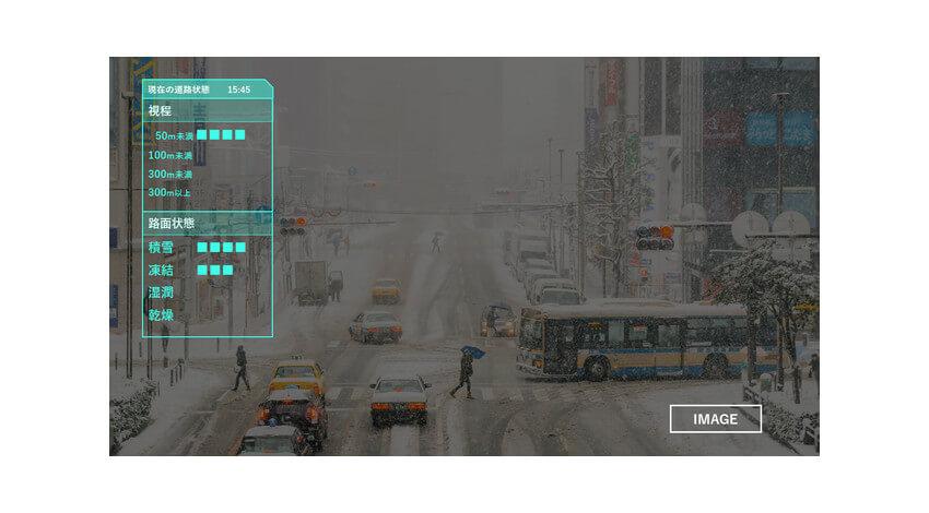 Spectee・日本気象協会・NCT、AIで道路の路面状態をリアルタイムに判別する実証実験を新潟県にて開始