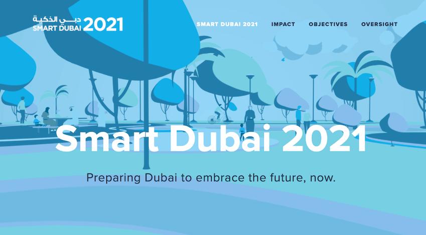 ドバイ スマートシティ Smart Dubai 2021