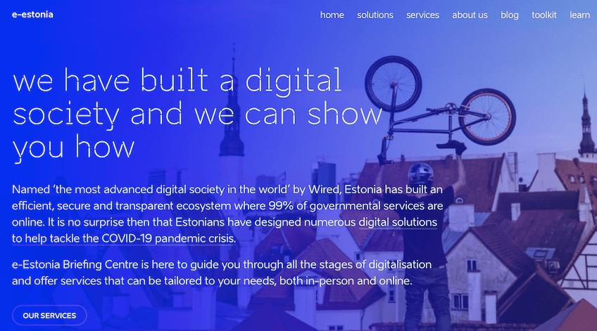 エストニア スマートシティ 電子政府サービス「e-Estonia」