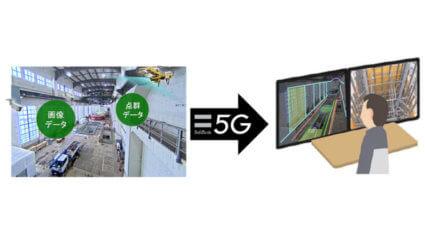 JR東日本とソフトバンク、5Gとデジタルツインを活用した建設工事のリモート監督業務の実証実験を開始