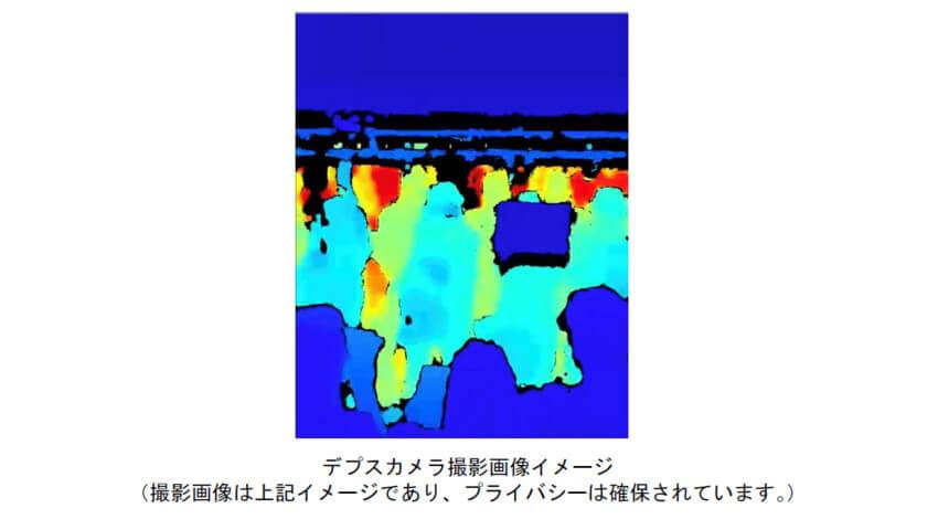 東京メトロと上野グリーンソリューションズ、デプスカメラとAIを用いた列車混雑計測システムを開発