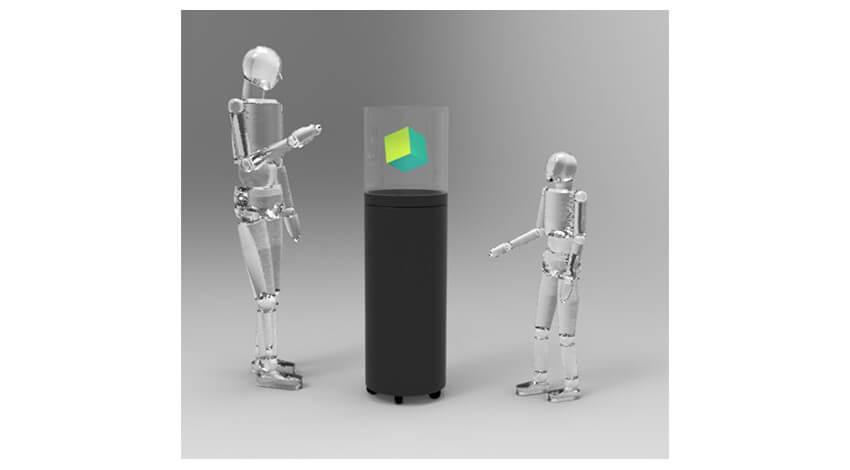 リコー、現実空間に全方位映像を映し出せる投影装置を開発
