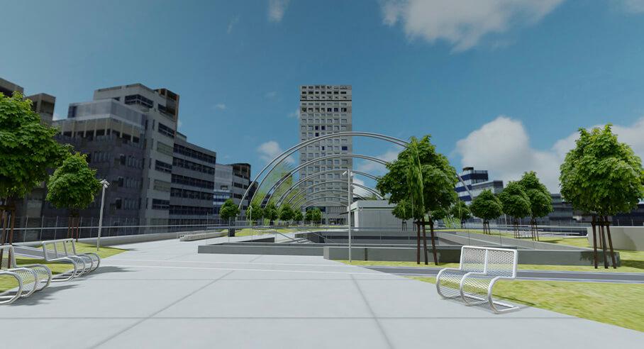 大日本印刷、地域共創型空間を開発するXRコミュニケーション事業を開始