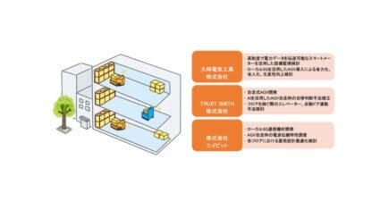 大崎電気・TRUST SMITH・エイビット、ローカル5Gを活用したスマート工場の実現に向けて実証実験を開始